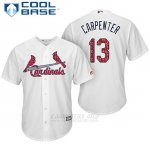 Camiseta Beisbol Hombre St. Louis Cardinals 2017 Estrellas y Rayas Matt Carpenter Blanco Cool Base