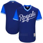 Camiseta Beisbol Hombre Kansas City Royals Players Weekend 2017 Personalizada Azul